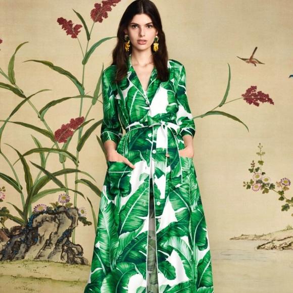 Dresses & Skirts - Banana Leaf Maxi Dress